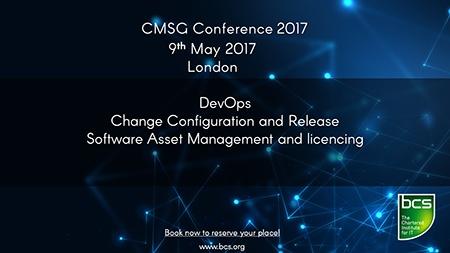 BCS CMSG Conference 2017