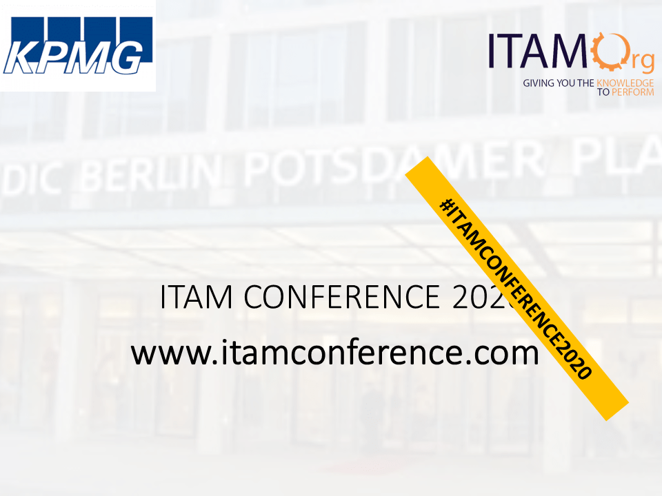 ITAM Conference 2020, Berlin, May 14-15 2020 – POSTPHONED!